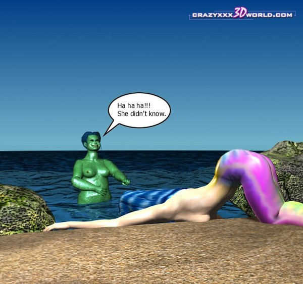 3d comic mermaid rose episodes 34 10