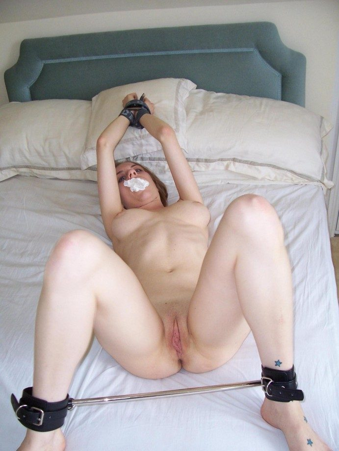 Tied To Bed Porn