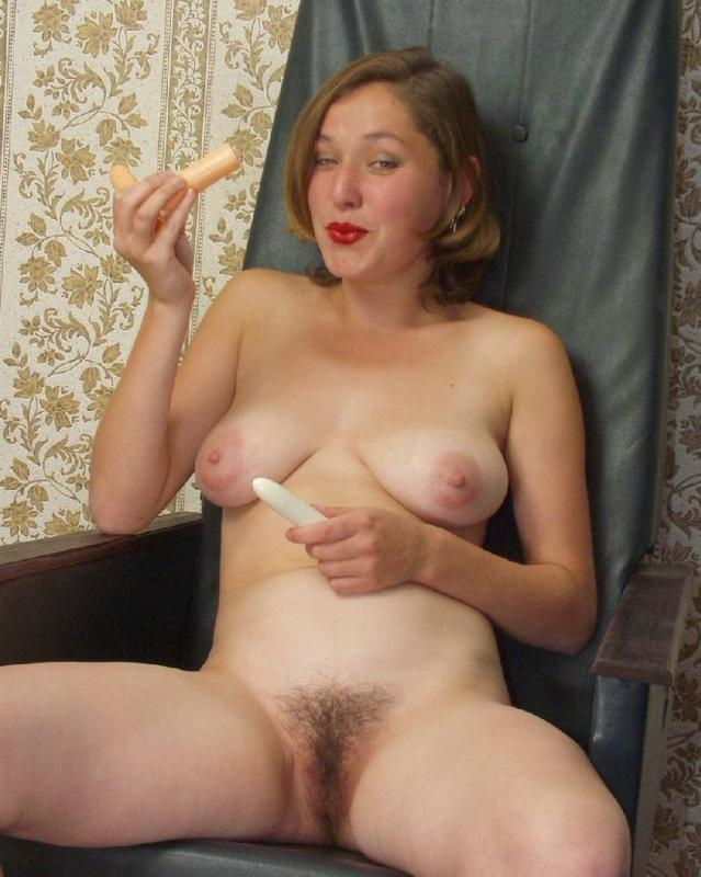 Hairy ladies - Busty babe totally naked and - XXX Dessert - Picture 9