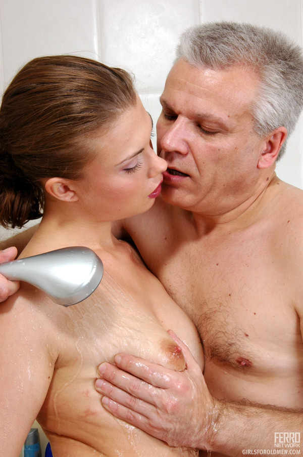 Young men and older women sex