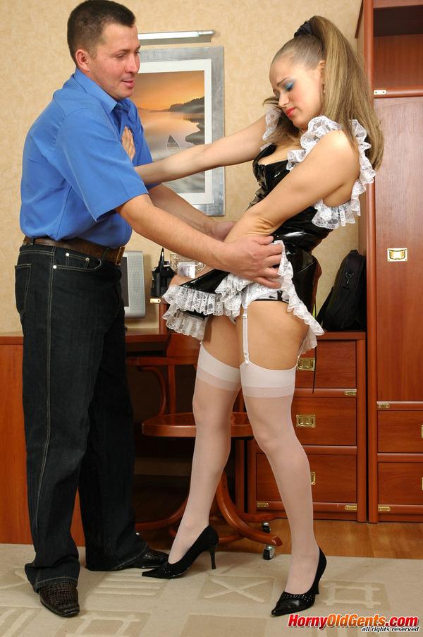 having sex maid