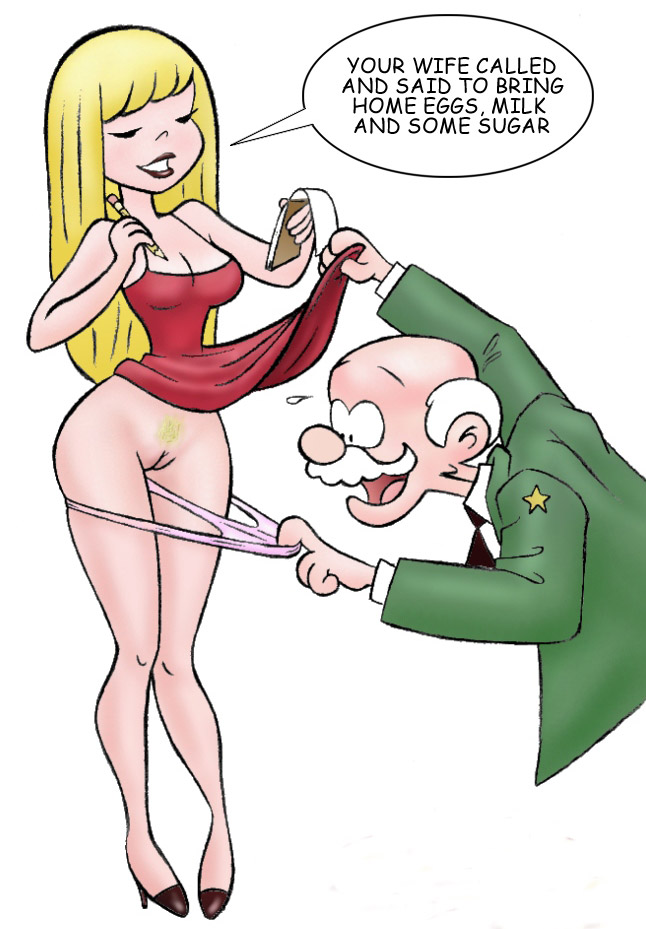 Sex comics - Old man wants to - Cartoon Porn Pictures - Picture 3
