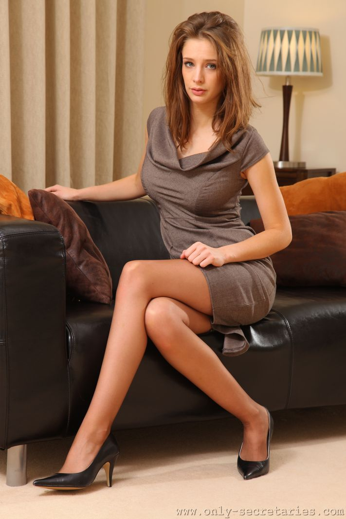 Sexy secretary emily s in dress and sexy women in for Emily addison nyc
