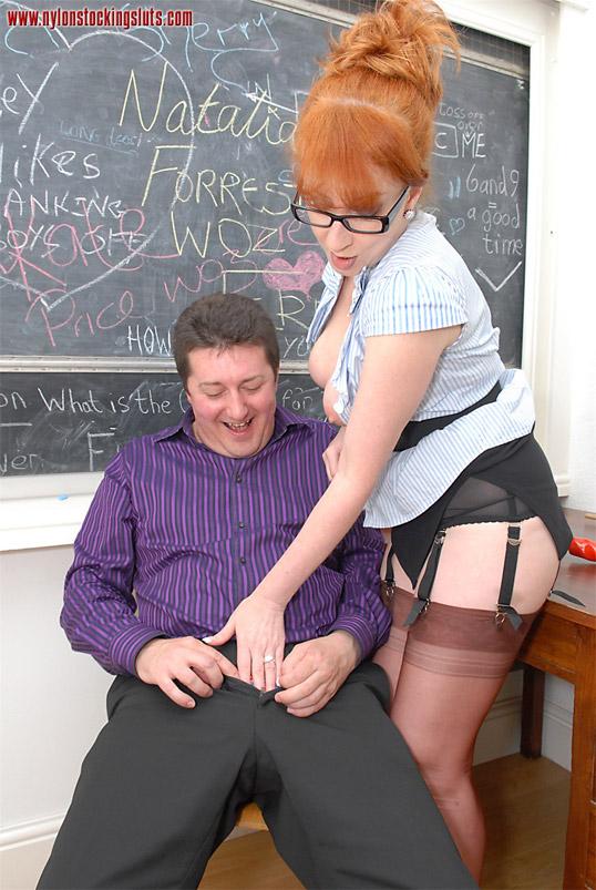 Mature teacher slut