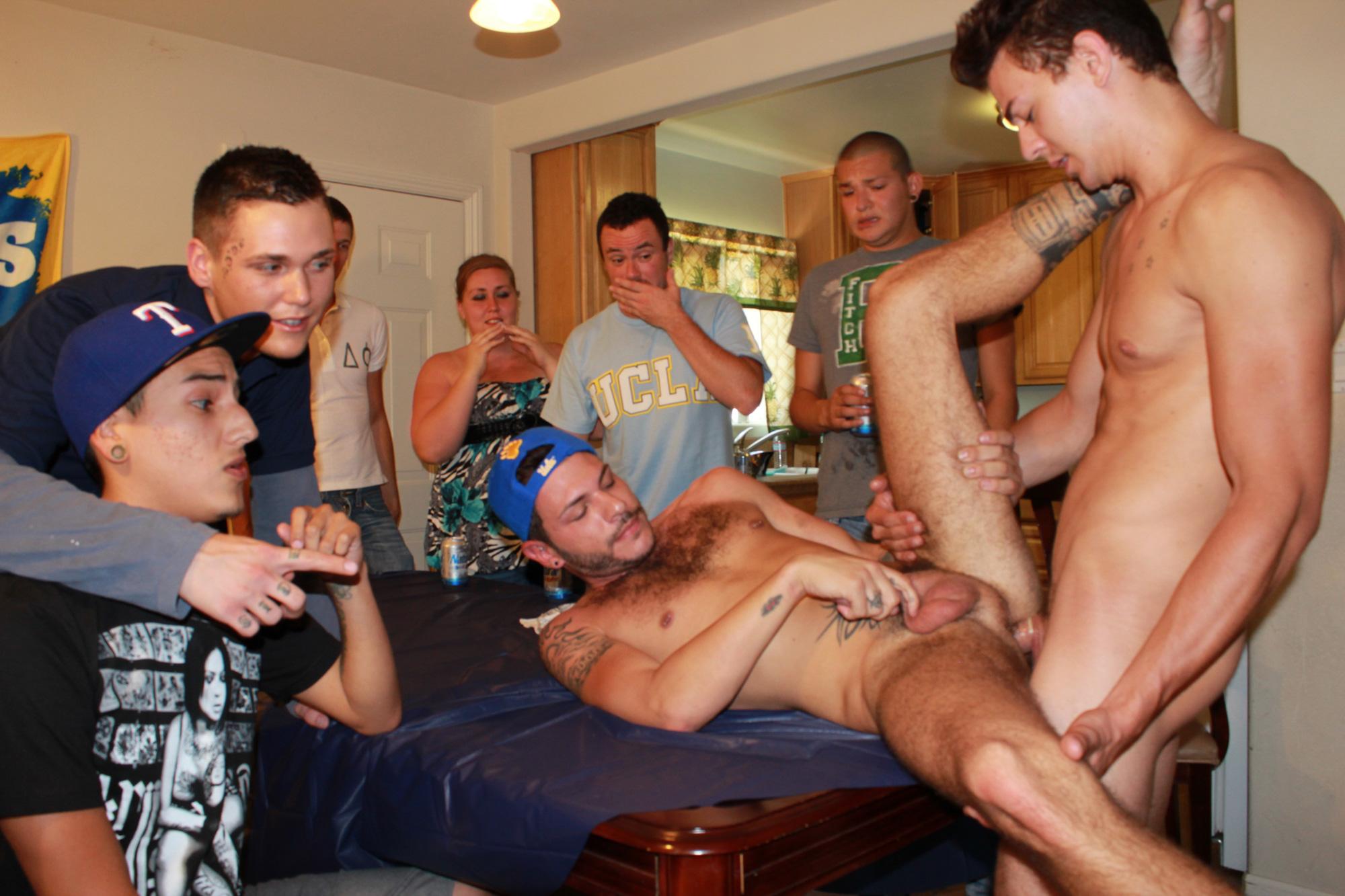 drunk orgy Gay