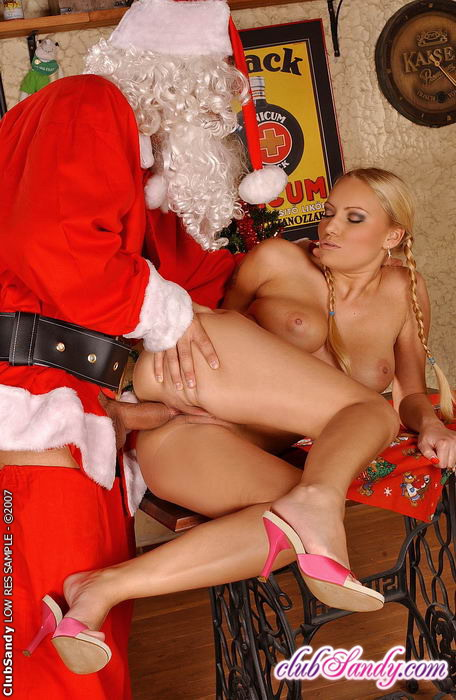 Evil ms claus has an early present for you