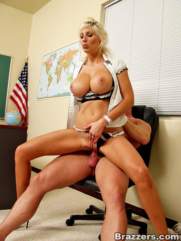 video porn busty Hot teacher
