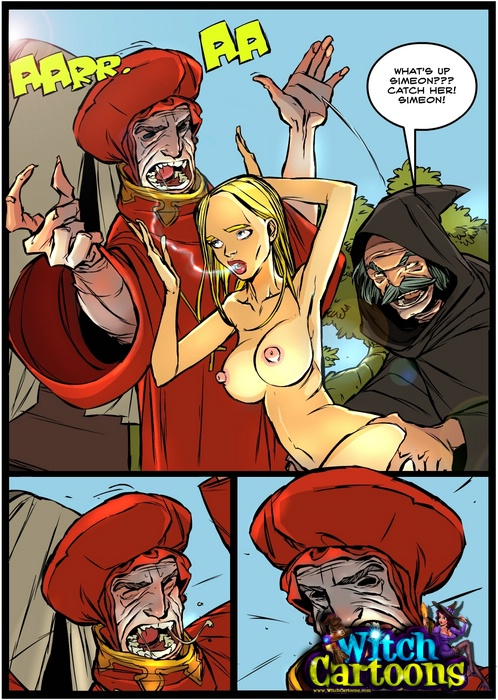 Crusader's cock in witch's twat - Sex - Silver Cartoon ...