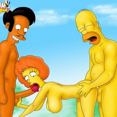 Adult Simpsons toons - Sex comics - Picture 5