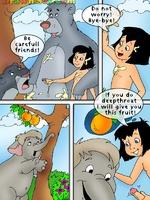 Mowgli's sex adventures - Toon porn comic