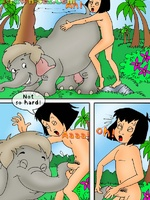 Mowgli's sex adventures - Toon porn comic