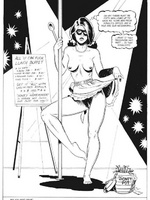 Woman gets tied up and toy fucked - Toon sex comics - Picture 1