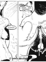 Woman gets tied up and toy fucked - Toon sex comics - Picture 2