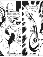 Woman gets tied up and toy fucked - Toon sex comics - Picture 15