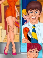 Witty comics with a shop assistant - Porn comix - Picture 2
