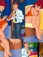 Witty comics with a shop assistant - Porn comix - Picture 4