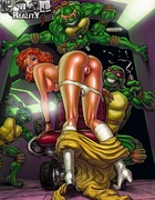Horny Teenage Mutant Ninja Turtles