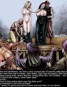 ZANZIBAR SLAVE MARKET. White slavegirl to her…