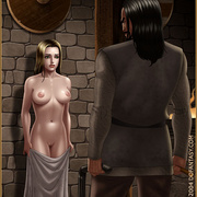 Slavegirls as booty of war. Great - Bdsm cartoons - Picture 2