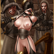 Slavegirls as booty of war. Great - Bdsm cartoons - Picture 3
