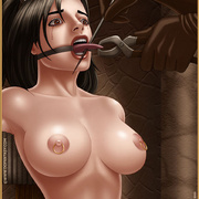 Slavegirls as booty of war. Great - Bdsm cartoons - Picture 4