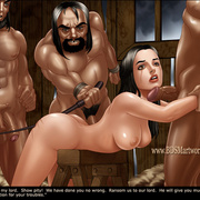 Slavegirls as booty of war. Great - Bdsm cartoons - Picture 5