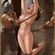 Slavegirls as booty of war. Great - Bdsm cartoons - Picture 6