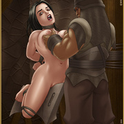 Slavegirls as booty of war. Great - Bdsm cartoons - Picture 7