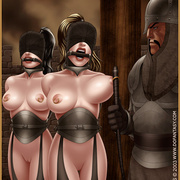 Slavegirls as booty of war. Great - Bdsm cartoons - Picture 8
