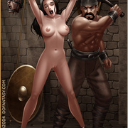 Slavegirls as booty of war. Great - Bdsm cartoons - Picture 9