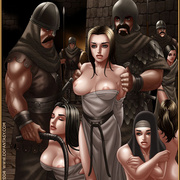 Slavegirls as booty of war. Great - Bdsm cartoons - Picture 10