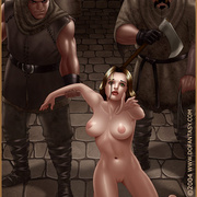 Slavegirls as booty of war. Great - Bdsm cartoons - Picture 12