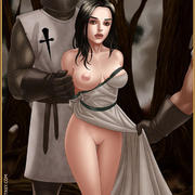 Slavegirls as booty of war. Great - Bdsm cartoons - Picture 15