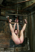 Bound hottie gets caned, flogged, tickled, and…