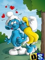 Xxx drawn porn pics of horny Smurfs - Picture 4