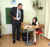 Old senior teacher screwing a horny and willing…