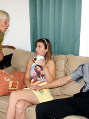 Young old sex - Senior old couple shagging - XXX Dessert - Picture 7