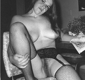 Sexy vintage ladies with moist hairy vaginas…