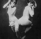 Sexy ladies from the twenties love showing off…