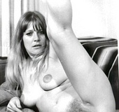 Bushy sixties ladies spreading their wet pussies…