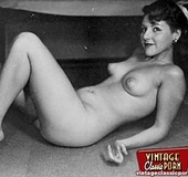 Several sexy vintage ladies showing their fine…