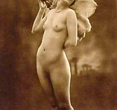 Full frontal vintage nudity chicks posing in the…