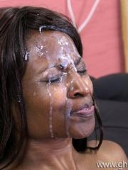 Ebony hardcore - Bria takes cock in the - XXX Dessert - Picture 13