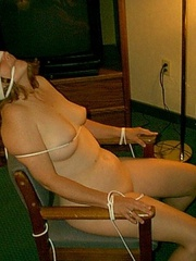 Bondage galleries - Amateur Tied 7 - Unique Bondage - Pic 4
