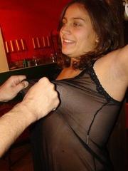 Slave porn - Seductive big boobed hottie - 1 picture ...