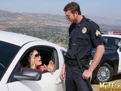 Large penis - Officer jordan stops roxy and - XXX Dessert - Picture 5