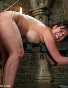 Ava Devine is bound and dominated while enduring&hellip;