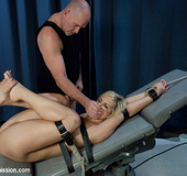 Tara busted for glory hole and gets bound and&hellip;