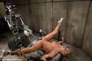 blond babe fucked sci-fi