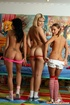 Hot and horny lesbians having a secret naked pussy…